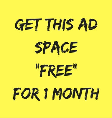 get the ad space free for 1 month